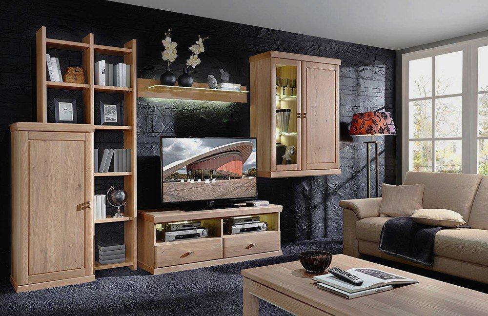 schr der m bel wohnwand cottage k004 m bel letz ihr online shop. Black Bedroom Furniture Sets. Home Design Ideas