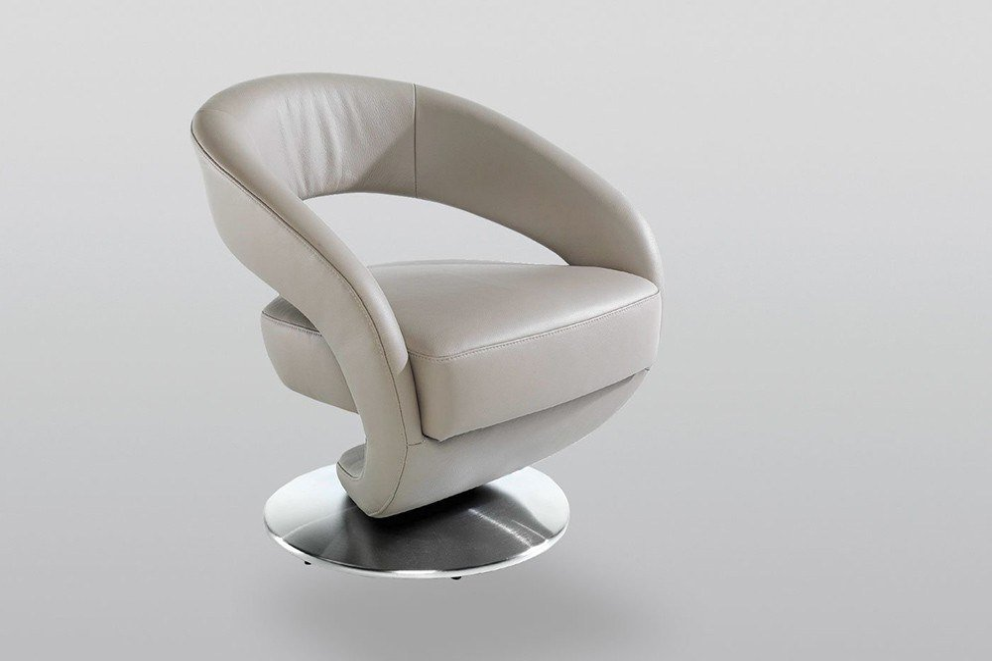 K+W Polstermöbel Kenzo Sessel grau   Möbel Letz - Ihr Online-Shop
