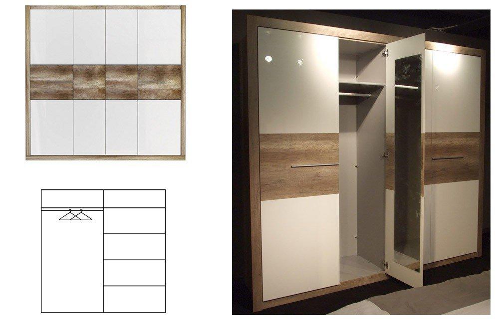 forte roxette schlafzimmer eiche antik m bel letz ihr online shop. Black Bedroom Furniture Sets. Home Design Ideas