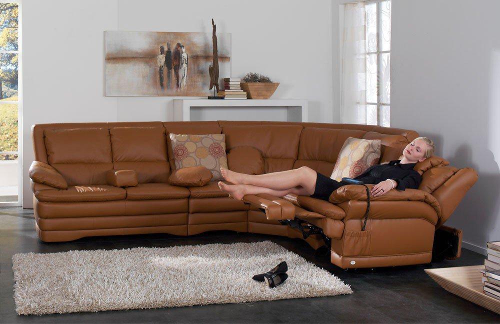 himolla 1902 polstergarnitur in braun m bel letz ihr online shop. Black Bedroom Furniture Sets. Home Design Ideas