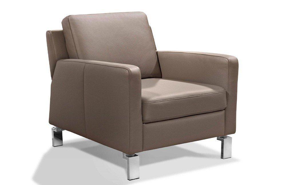 carina polsterm bel sessel piet in grau braun m bel letz ihr online shop. Black Bedroom Furniture Sets. Home Design Ideas