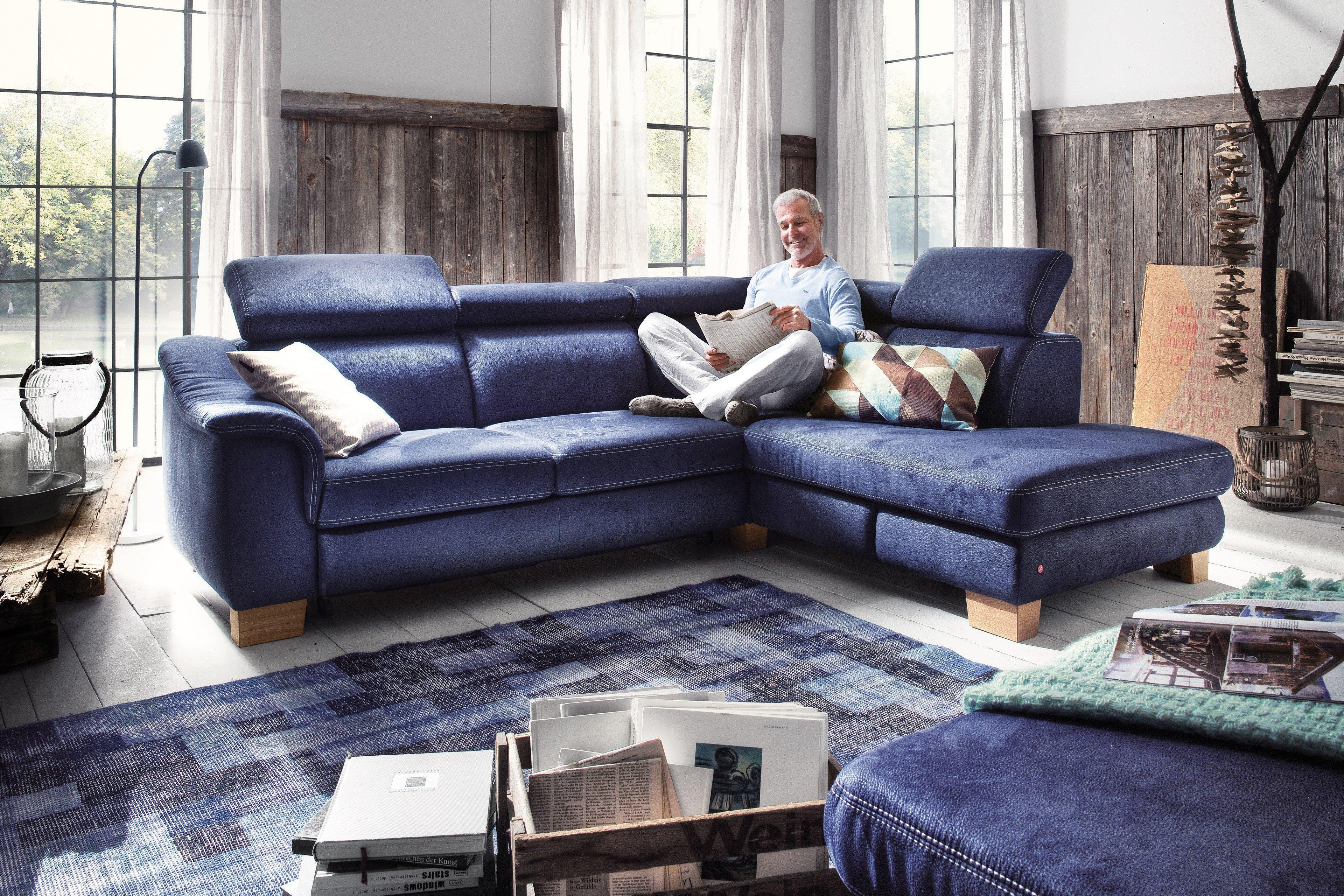 carina polsterm bel heaven ecksofa in blau m bel letz. Black Bedroom Furniture Sets. Home Design Ideas