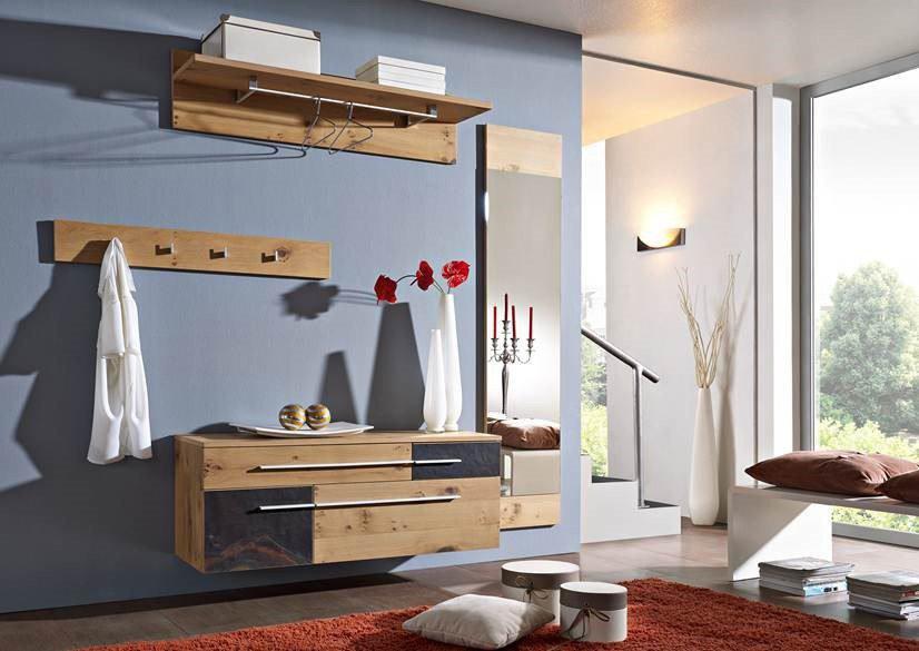 garderobe volare wildeiche schiefer von gradel m bel. Black Bedroom Furniture Sets. Home Design Ideas