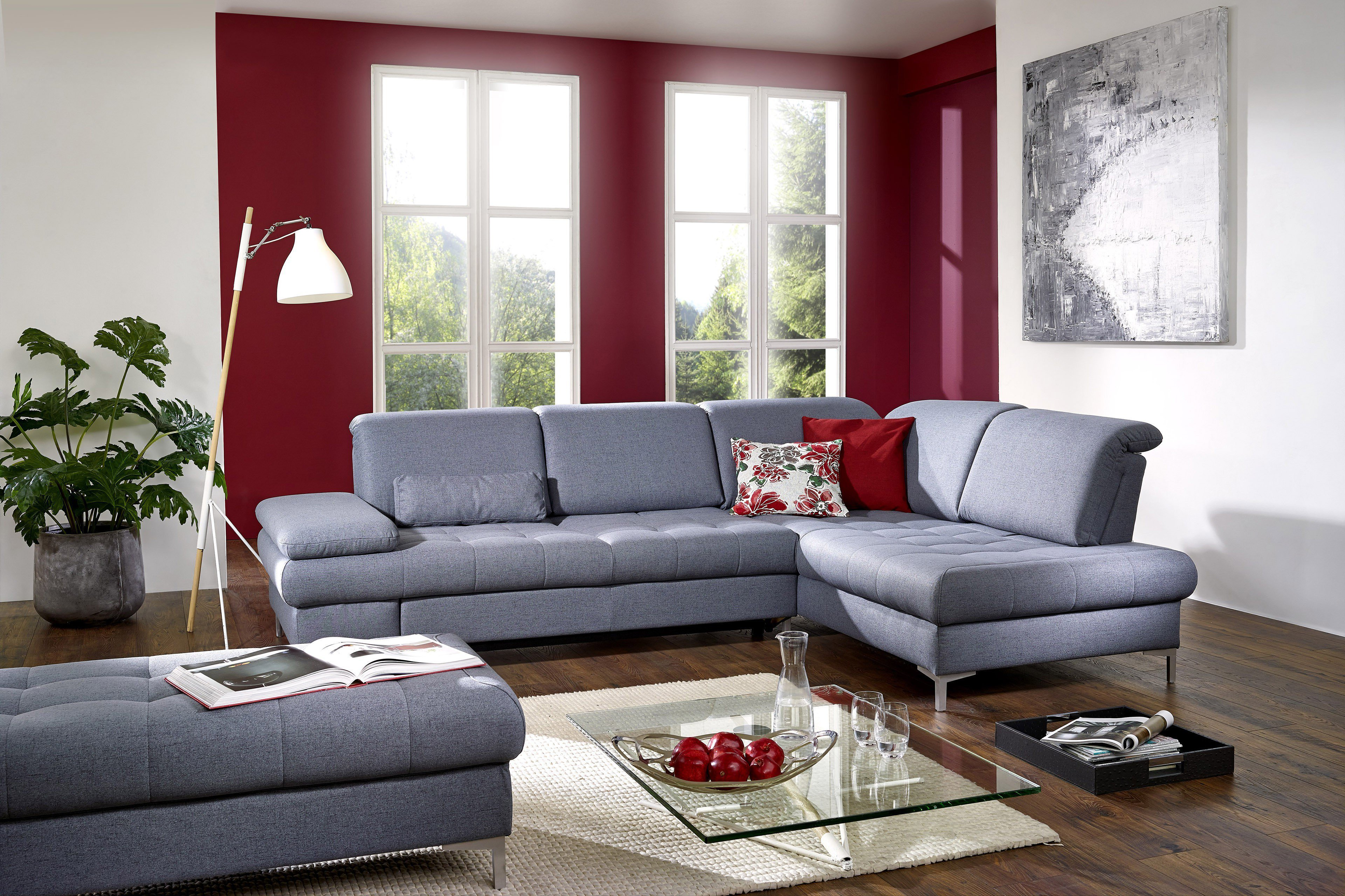 dietsch family relax 3 ecksofa graublau m bel letz ihr. Black Bedroom Furniture Sets. Home Design Ideas