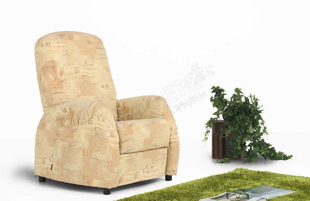 EMP Polstermöbel Vitalus Classics 1 Sessel beige gemustert | Möbel ...