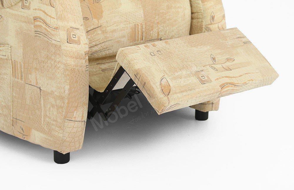 EMP Polstermöbel Vitalus Classics 1 Sessel beige gemustert   Möbel ...
