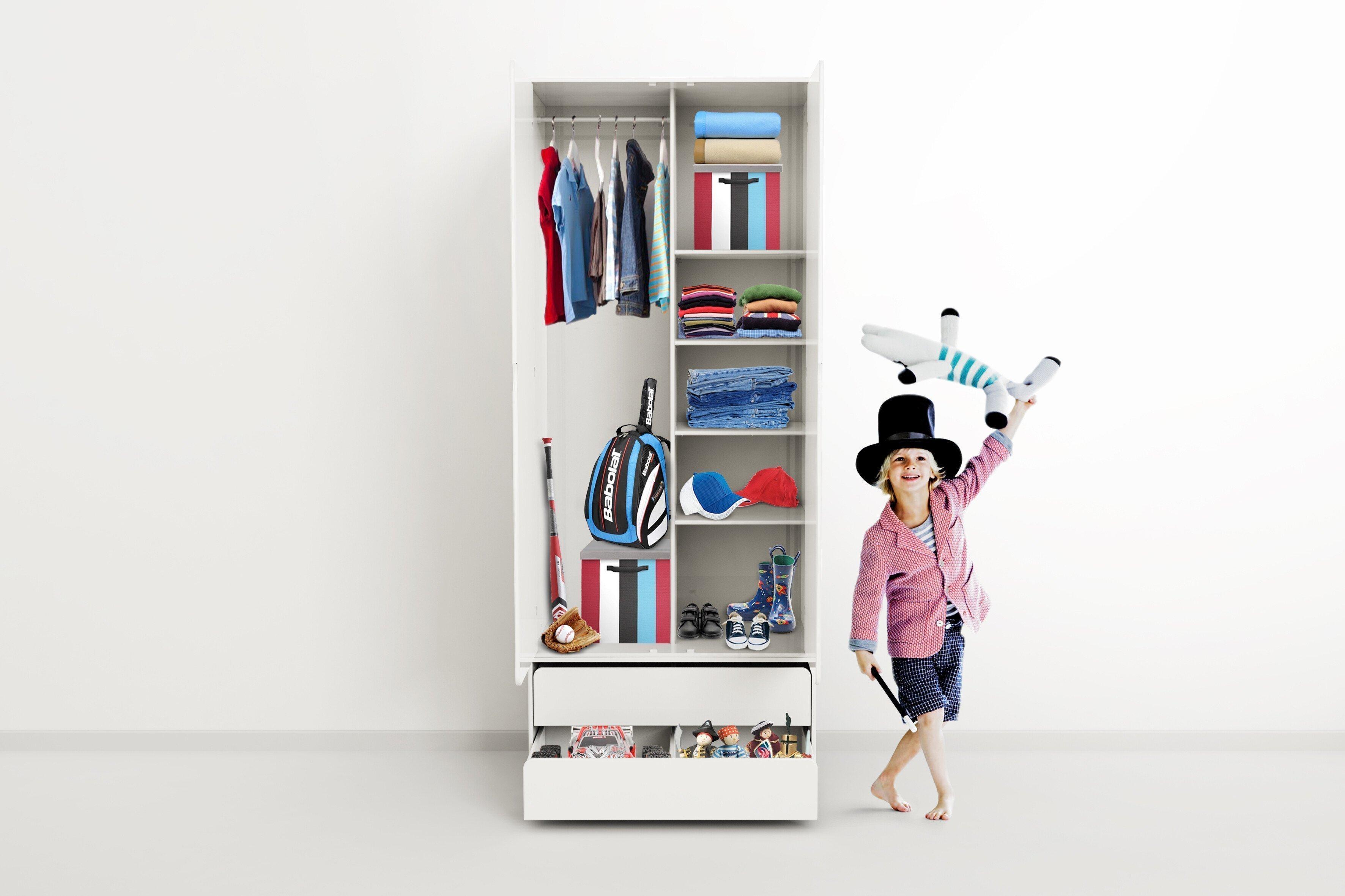 Flexa Cabby Kleiderschrank Weiß Möbel Letz Ihr Online Shop