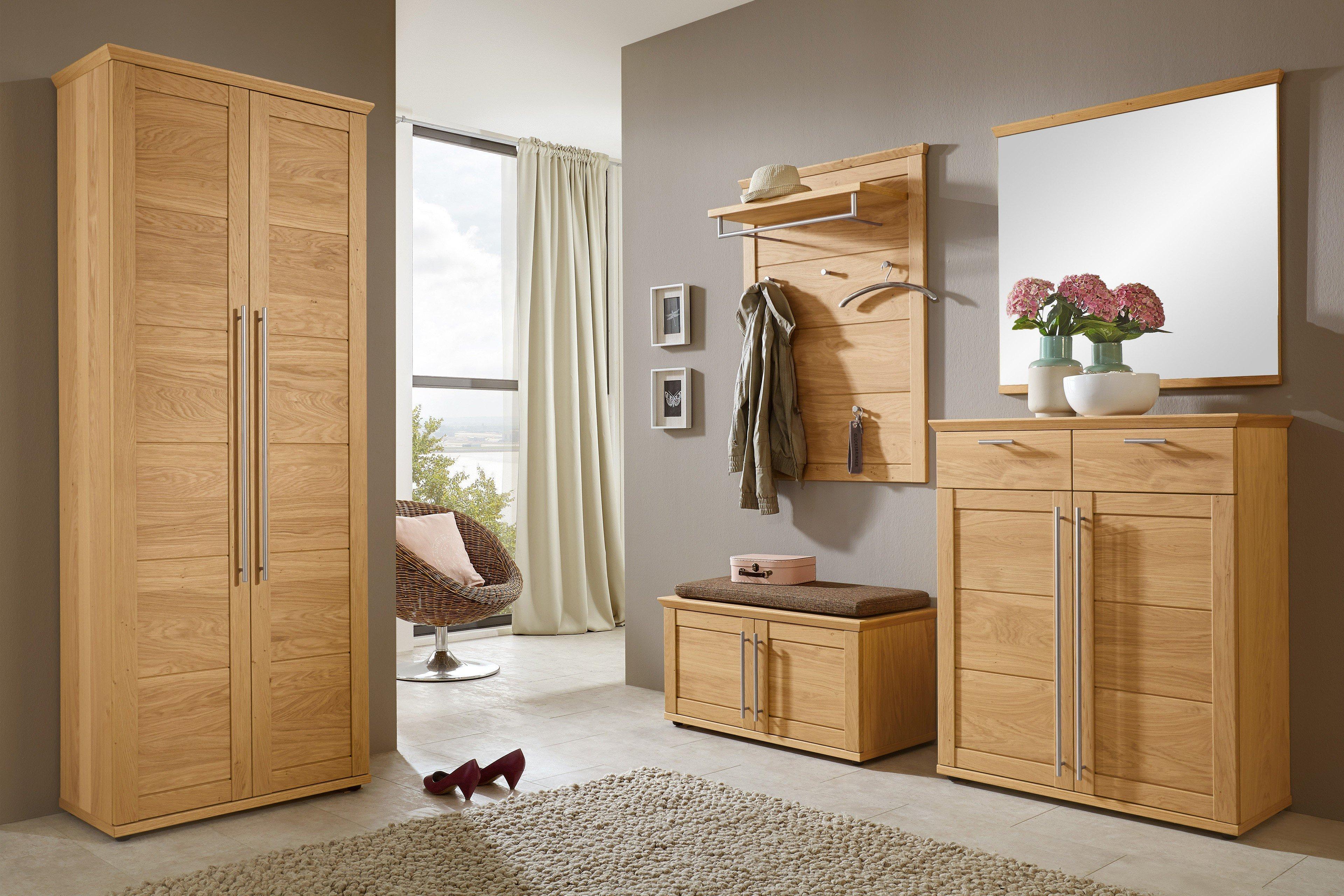 garderobe garda in eiche bianco von voss m bel m bel. Black Bedroom Furniture Sets. Home Design Ideas