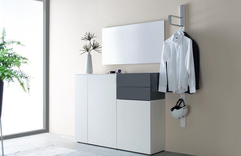 Garderobe Ted Blütenweiß Onyx Von Sudbrock Möbel Letz Ihr