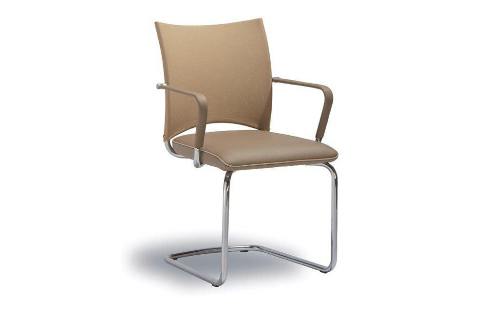 stuhl sento rst 160 beige mit armlehnen von ronald. Black Bedroom Furniture Sets. Home Design Ideas