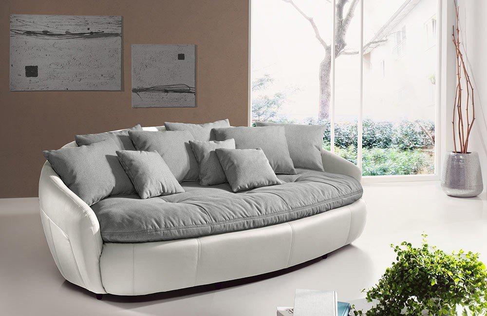 Cotta Aruba Ii Megasofa Grau Weiß Möbel Letz Ihr Online Shop