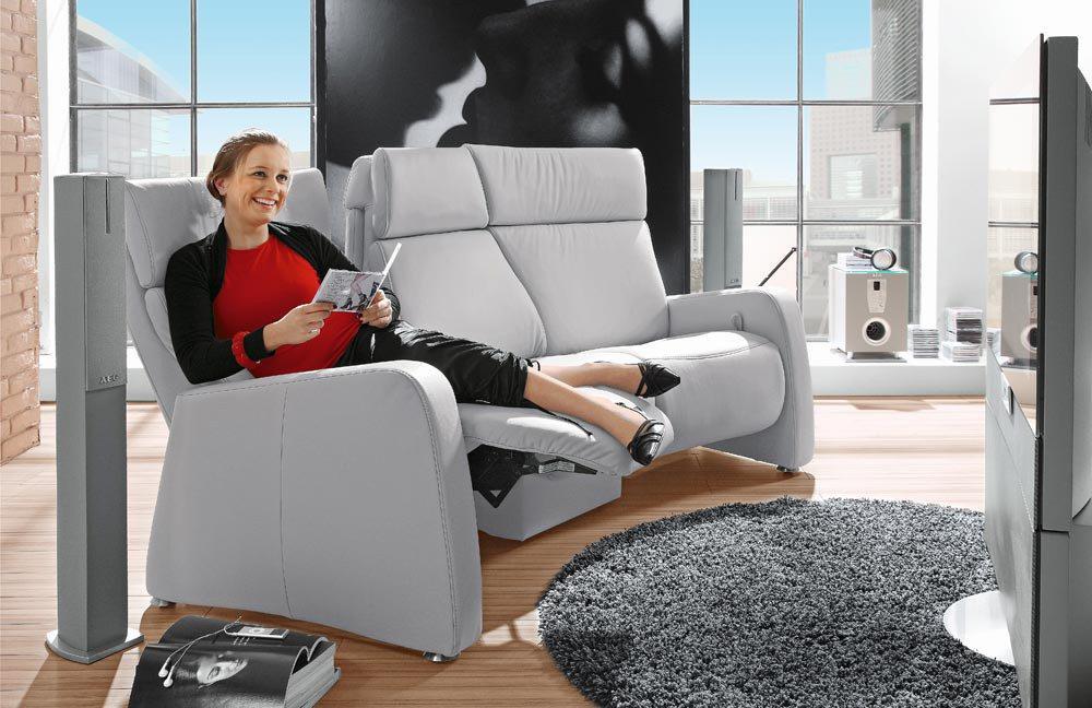 himolla polsterm bel 4016 homecinema grau m bel letz. Black Bedroom Furniture Sets. Home Design Ideas