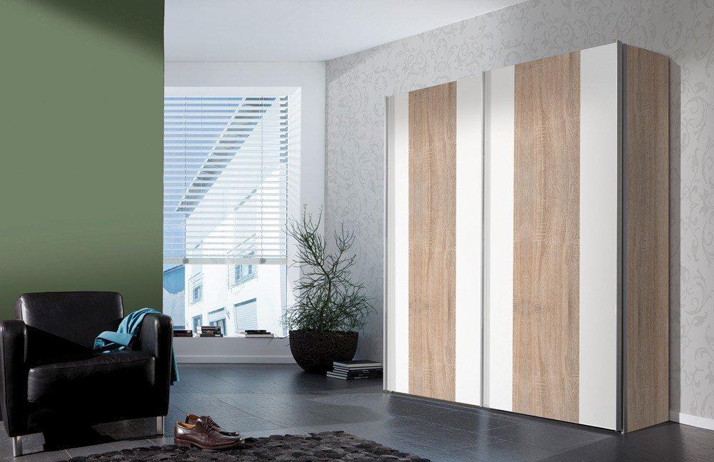 Einfache Dekoration Und Mobel Individuelle Schraenke Made In Germany 2 #18: Vertigo Von Express - Schrank Sonoma-Eiche U0026 Polarweiß