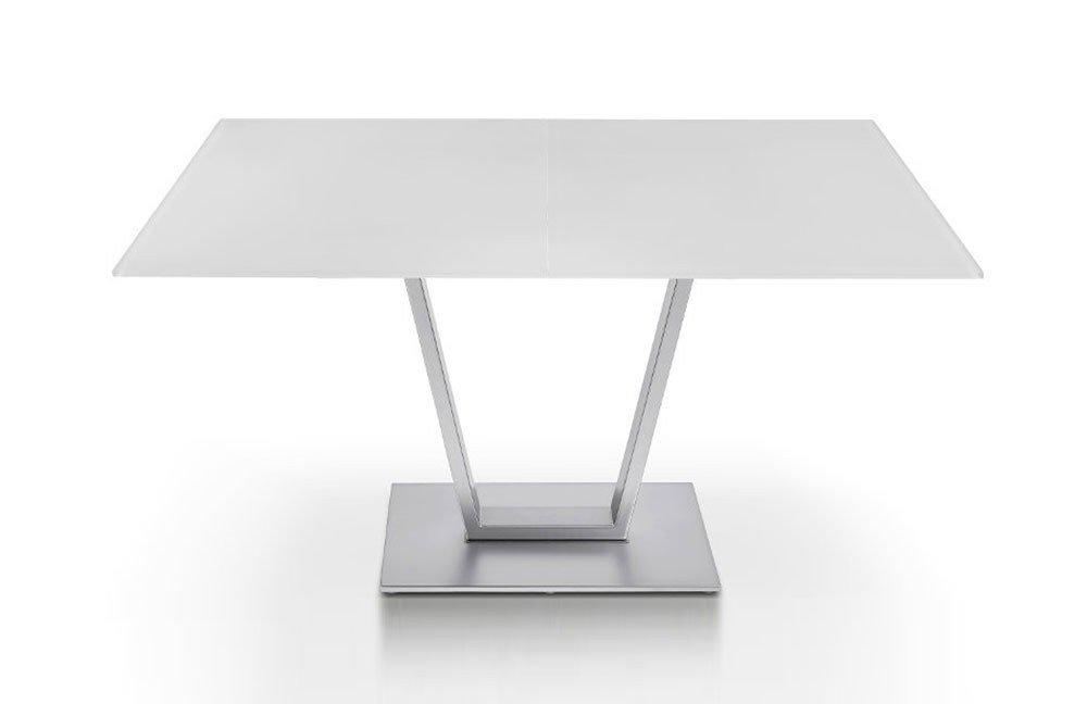 esstisch bonito p 4400 e glas reinwei von ronald. Black Bedroom Furniture Sets. Home Design Ideas