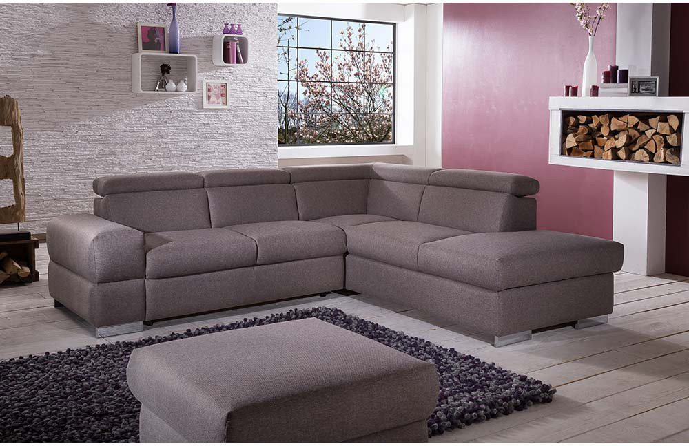 amazing einfache dekoration und mobel allgemeiner leitfaden zum kauf eines sofas #1: Mars von COTTA - Ecksofa brown