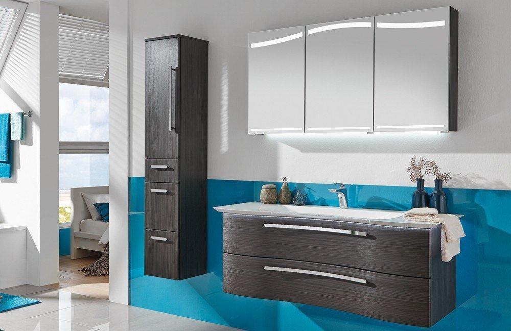Badezimmer wave plus hacienda schwarz von puris m bel for Badezimmer konfigurator