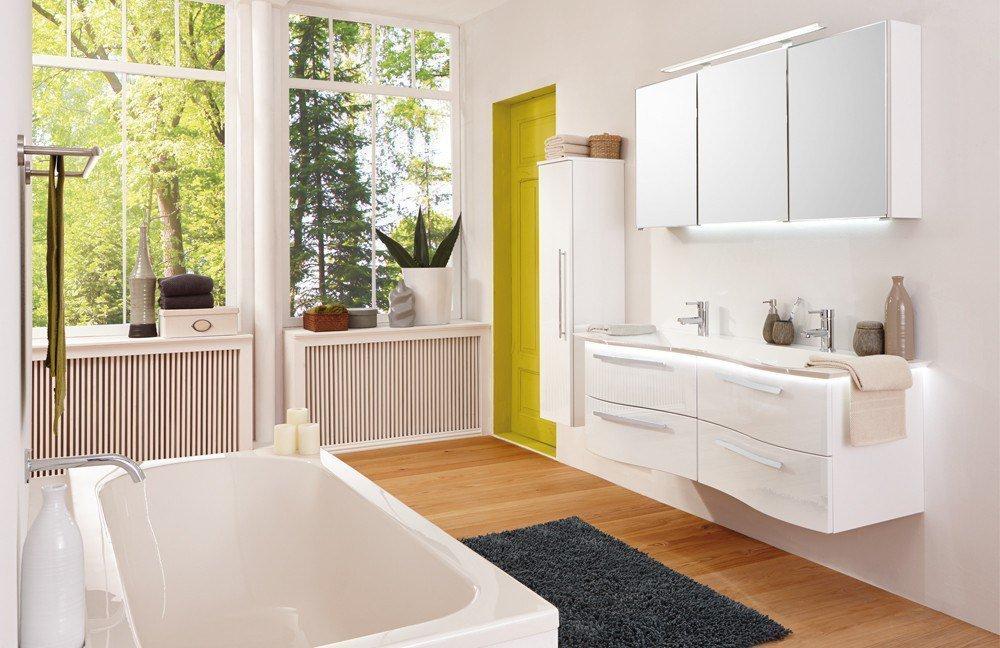badezimmer wave plus weiß hochglanz von puris | möbel letz - ihr, Deko ideen