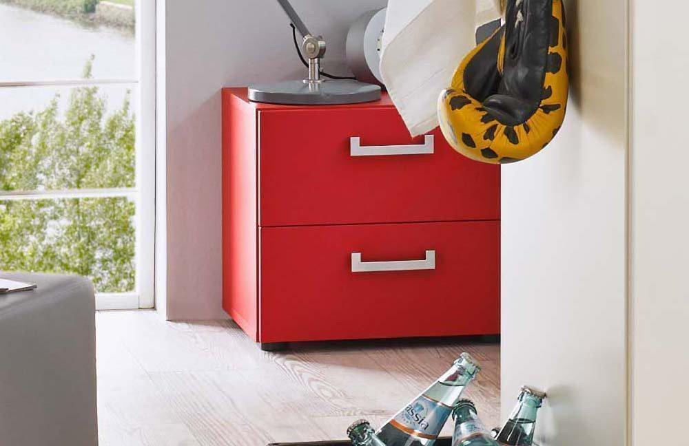 rudolf elmore jugendzimmer creme rot steineiche m bel letz ihr online shop. Black Bedroom Furniture Sets. Home Design Ideas