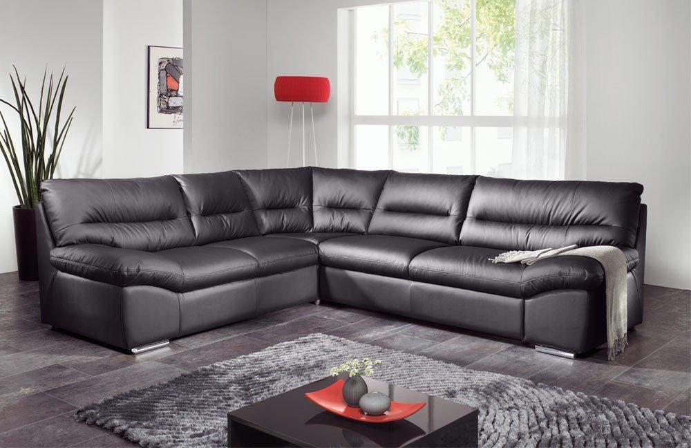 cotta william ecksofa in schwarz m bel letz ihr online shop. Black Bedroom Furniture Sets. Home Design Ideas