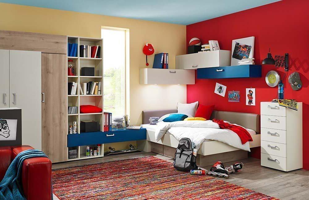 rudolf elmore jugendzimmer creme blau sandeiche m bel letz ihr online shop. Black Bedroom Furniture Sets. Home Design Ideas