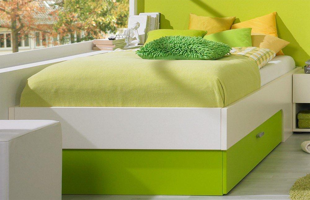 jugendzimmer max i rudolf creme gr n m bel letz ihr online shop. Black Bedroom Furniture Sets. Home Design Ideas