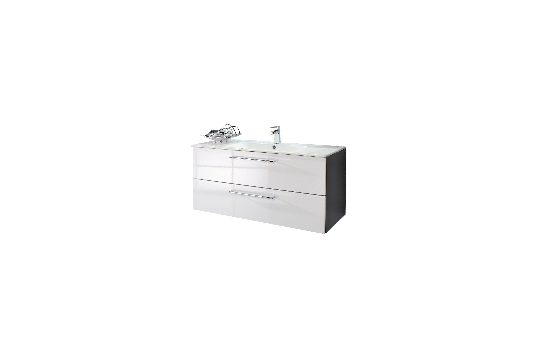 badezimmer fresh in polarwei quarzgrau von puris m bel letz ihr online shop. Black Bedroom Furniture Sets. Home Design Ideas