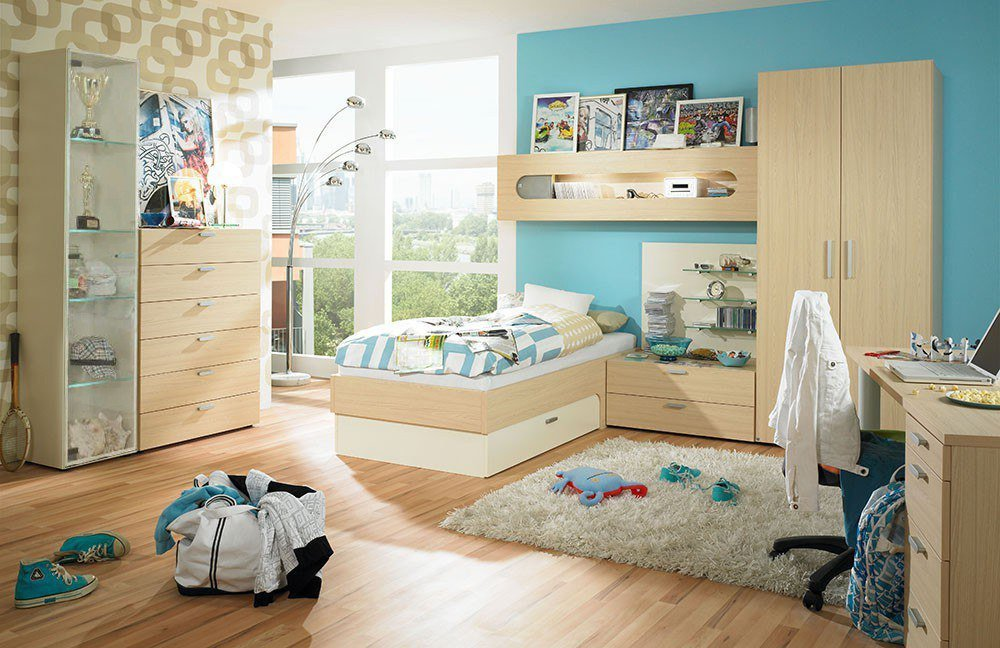 rudolf max-i jugendzimmer creme ahorn | möbel letz - ihr online-shop - Ahorn Mobel Fur Jugendzimmer Kindermoebel