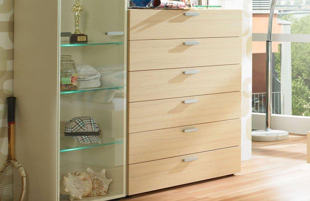 jugendzimmer max i rudolf creme ahorn m bel letz ihr online shop. Black Bedroom Furniture Sets. Home Design Ideas