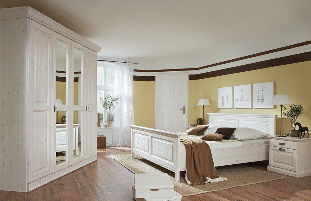 malta von lmie schlafzimmer kiefer massiv weiß art nr lmie malta pg1
