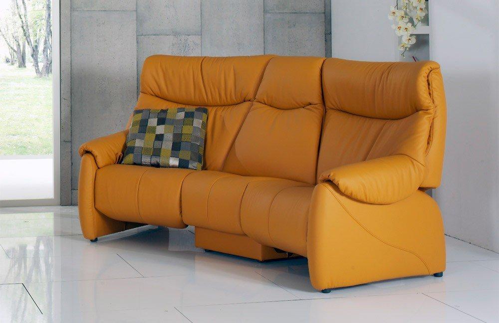 himolla polsterm bel 4512 trapezsofa in orange m bel letz ihr online shop. Black Bedroom Furniture Sets. Home Design Ideas