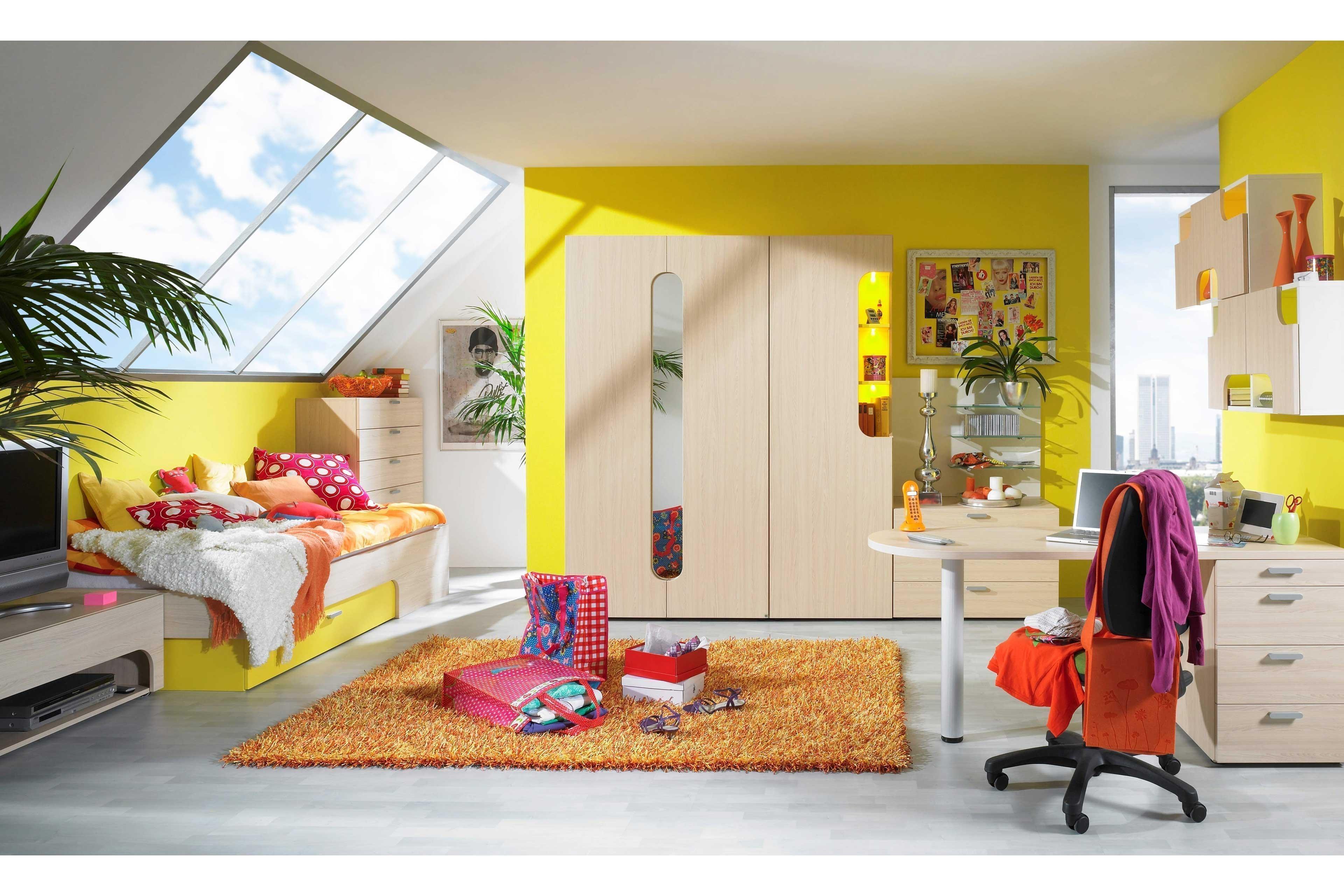 max i jugendzimmer rudolf ahorn gelb m bel letz ihr online shop. Black Bedroom Furniture Sets. Home Design Ideas