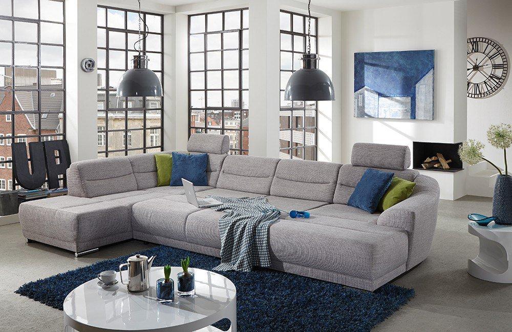 sit more senya wohnlandschaft hellgrau m bel letz ihr online shop. Black Bedroom Furniture Sets. Home Design Ideas