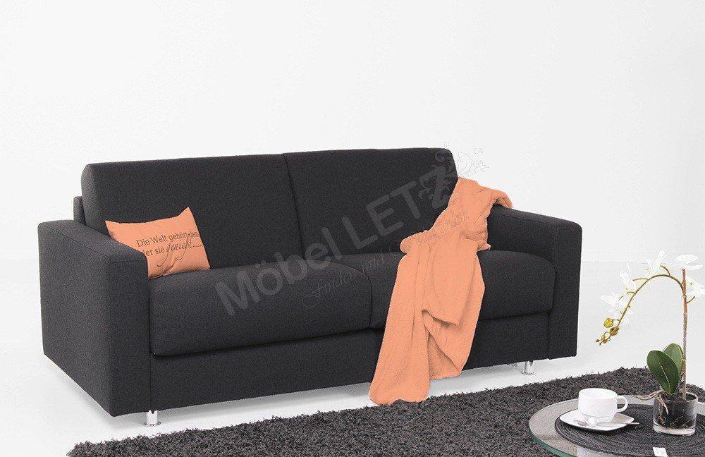 bali polsterm bel messina schlafsofa schwarz m bel letz. Black Bedroom Furniture Sets. Home Design Ideas
