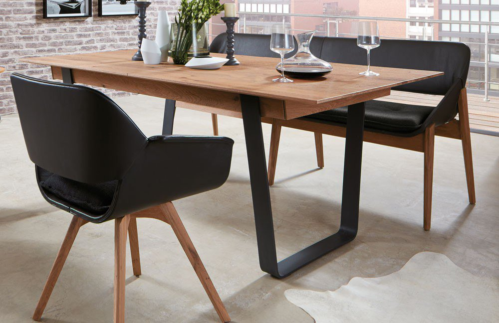 esstisch caya 7170 von hartmann m bel letz ihr online shop. Black Bedroom Furniture Sets. Home Design Ideas