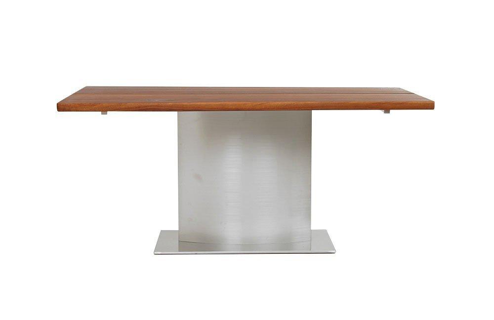 Baumtisch gnstig liveedge akazie braun x platte cm for Moderne holztische