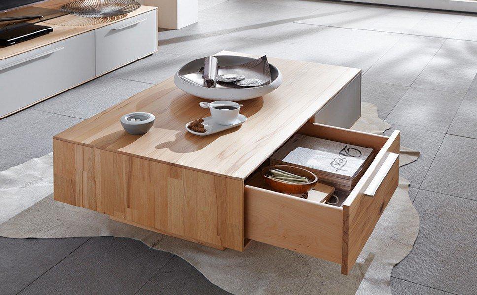 couchtisch calleo wildeiche mattglas bianco von w stmann markenm bel m bel letz ihr online shop. Black Bedroom Furniture Sets. Home Design Ideas