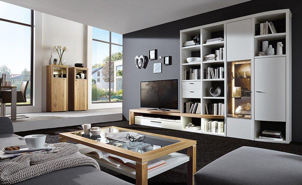 wohnwand cecado 0002 inklusive zubeh r von w stmann designm bel m bel letz ihr online shop. Black Bedroom Furniture Sets. Home Design Ideas