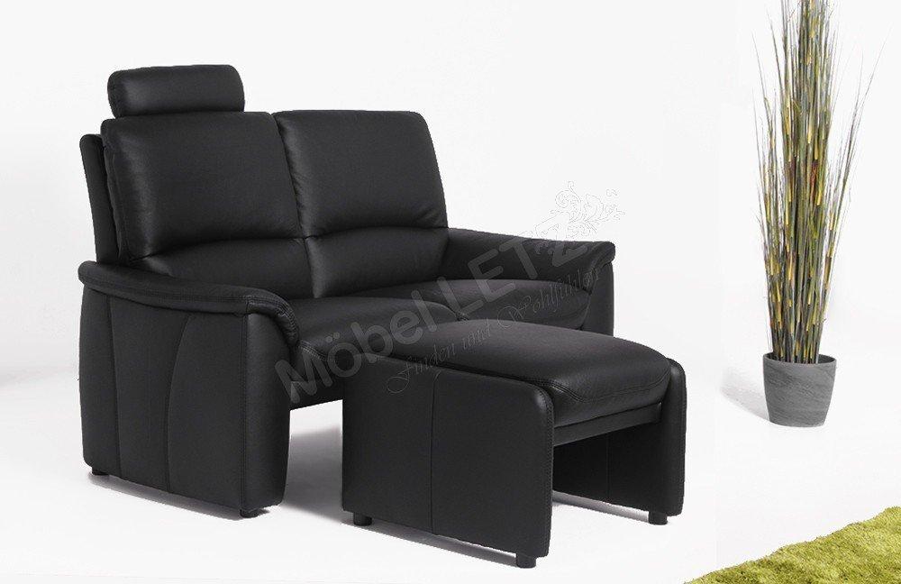 k w relaxliner ii ledergarnitur schwarz m bel letz ihr online shop. Black Bedroom Furniture Sets. Home Design Ideas