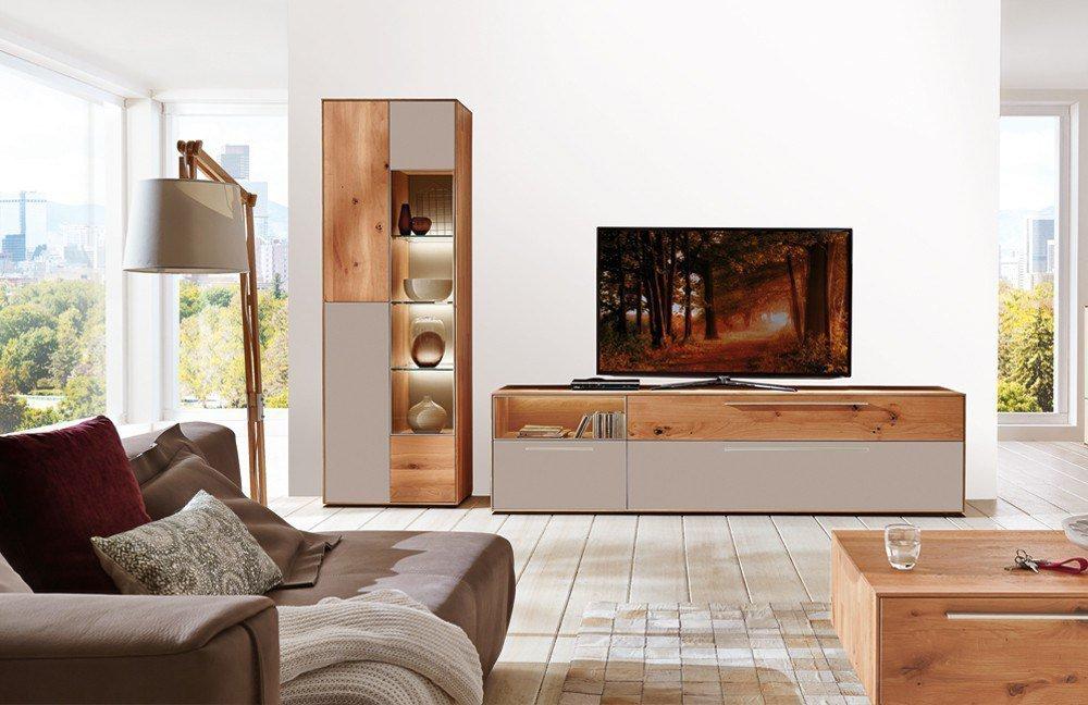 w stmann wohnwand calleo 0003 kernbuche mattglas schlamm m bel letz ihr online shop. Black Bedroom Furniture Sets. Home Design Ideas