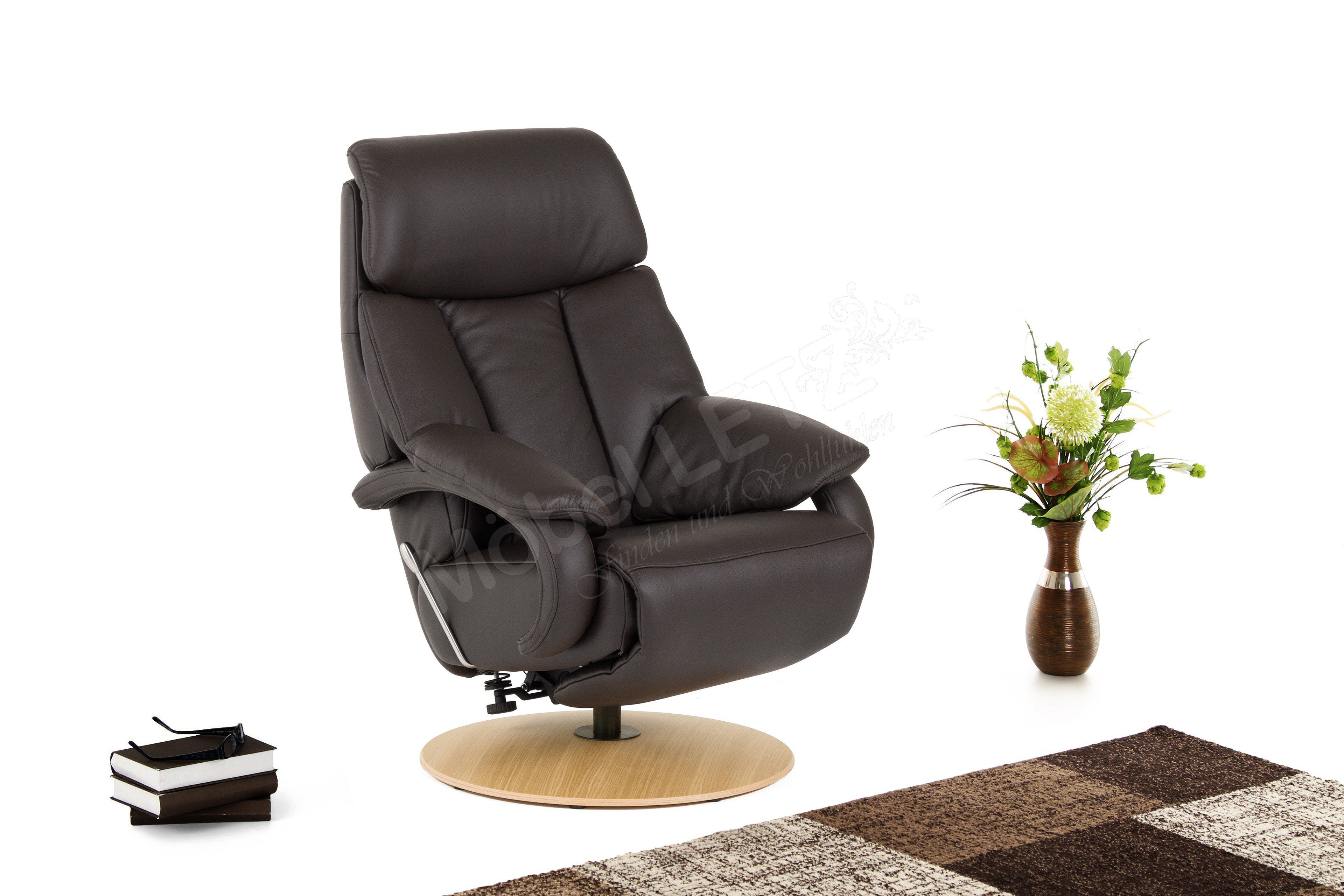hukla cosyrelax cr 04 relaxsessel in braun m bel letz. Black Bedroom Furniture Sets. Home Design Ideas