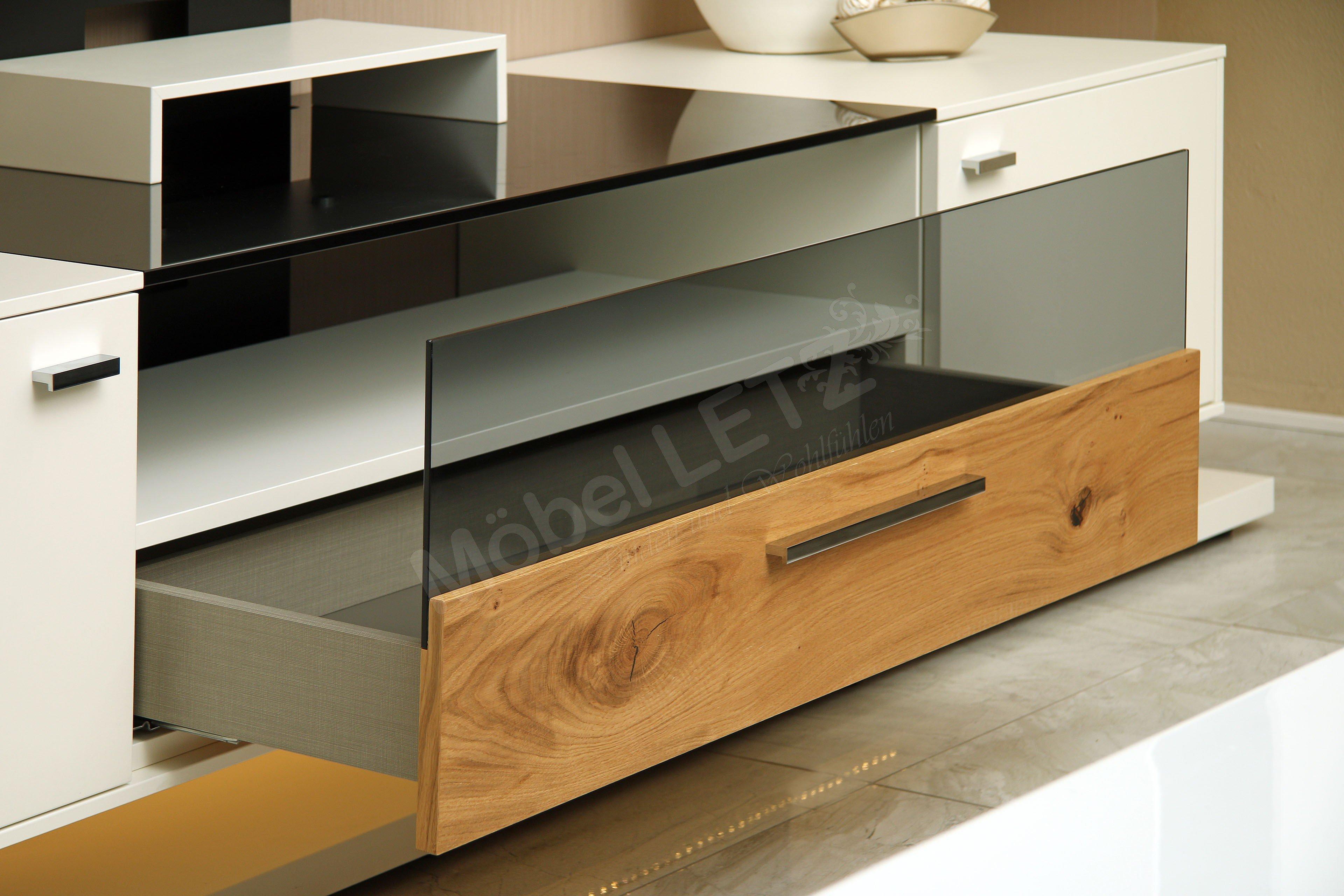 gwinner wohnwand media concept mc902 wei balkeneiche. Black Bedroom Furniture Sets. Home Design Ideas