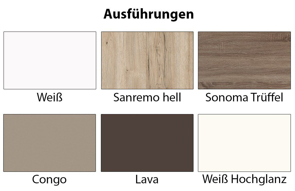 tv lowboard colour art 010 wei lava von cs schmalm bel m bel letz ihr online shop. Black Bedroom Furniture Sets. Home Design Ideas