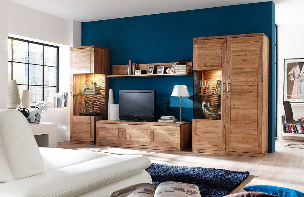 wohnwand sandra variante 4 von dudinger m bel letz ihr. Black Bedroom Furniture Sets. Home Design Ideas