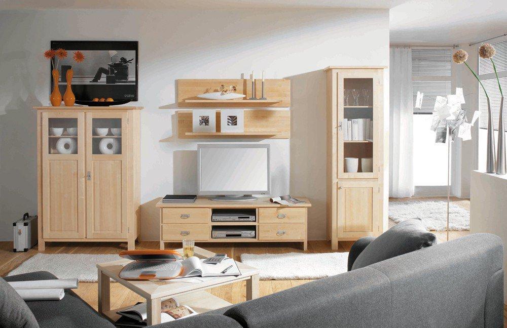 Wohnwand Lisa Birke Variante 1 von Dudinger  Möbel Letz