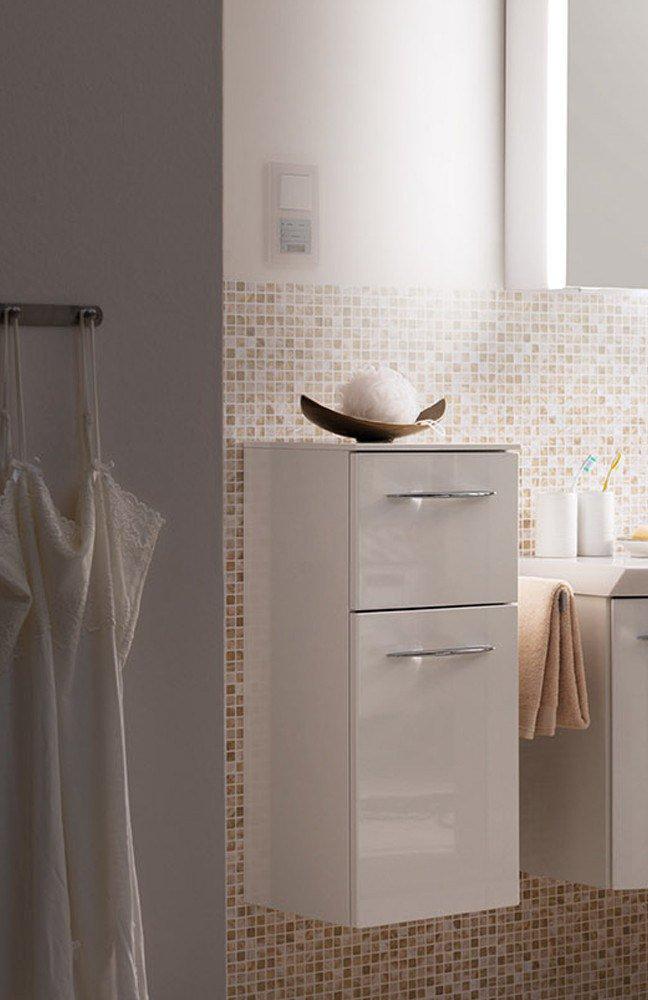 Badezimmer cassca hochglanz wei von pelipal m bel letz for Badezimmer shop
