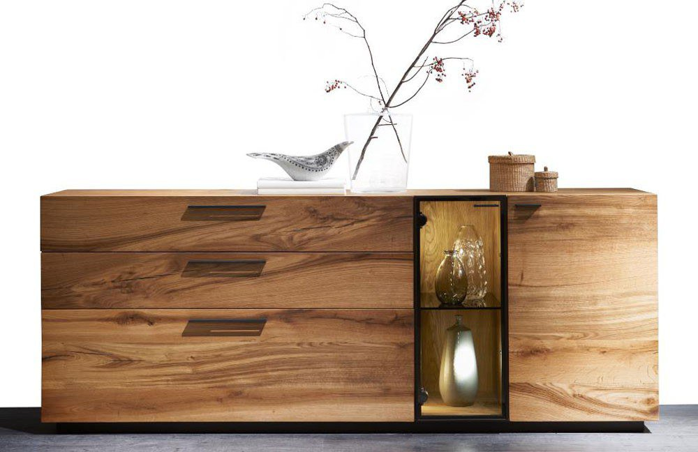 sideboard reveno rustikale asteiche natur von wimmer. Black Bedroom Furniture Sets. Home Design Ideas