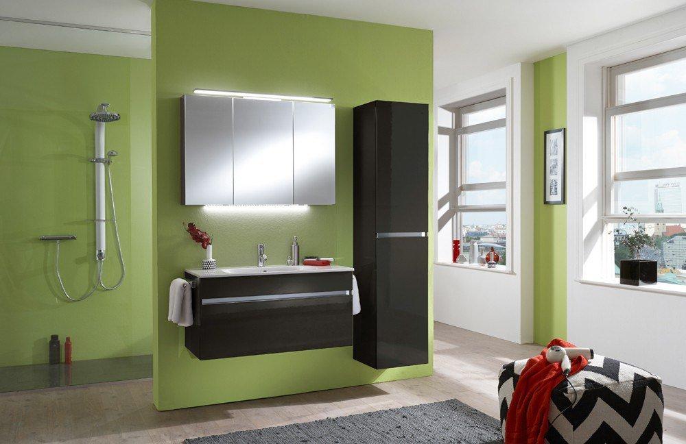 Badezimmer IDEA Lacklaminat anthrazit von Marlin  Möbel Letz - Ihr ...