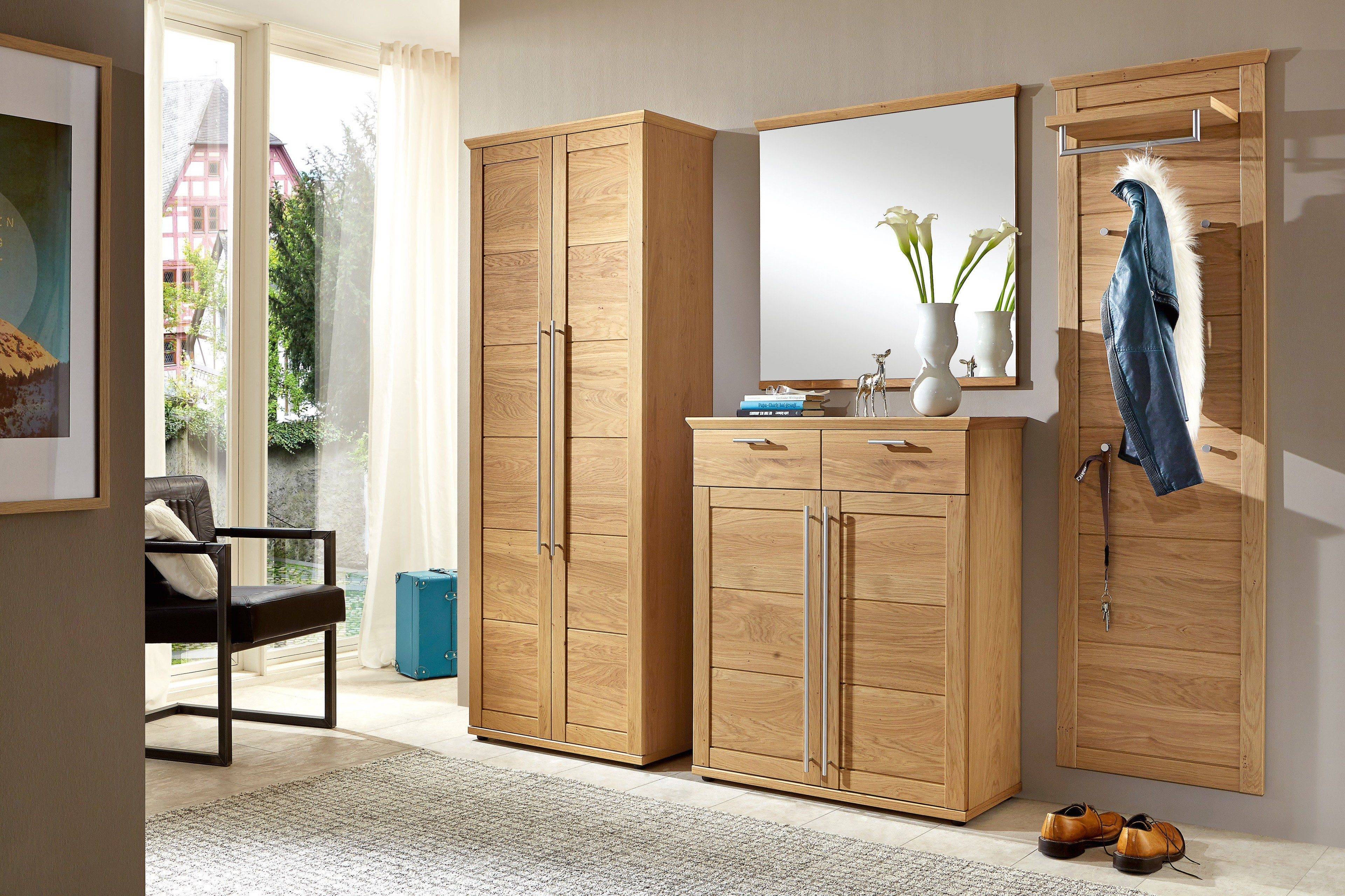 voss m bel garderobe garda voxy 2 teilig m bel letz ihr online shop. Black Bedroom Furniture Sets. Home Design Ideas