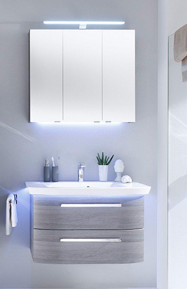 badezimmer contea in graphit struktur von pelipal m bel letz ihr online shop. Black Bedroom Furniture Sets. Home Design Ideas