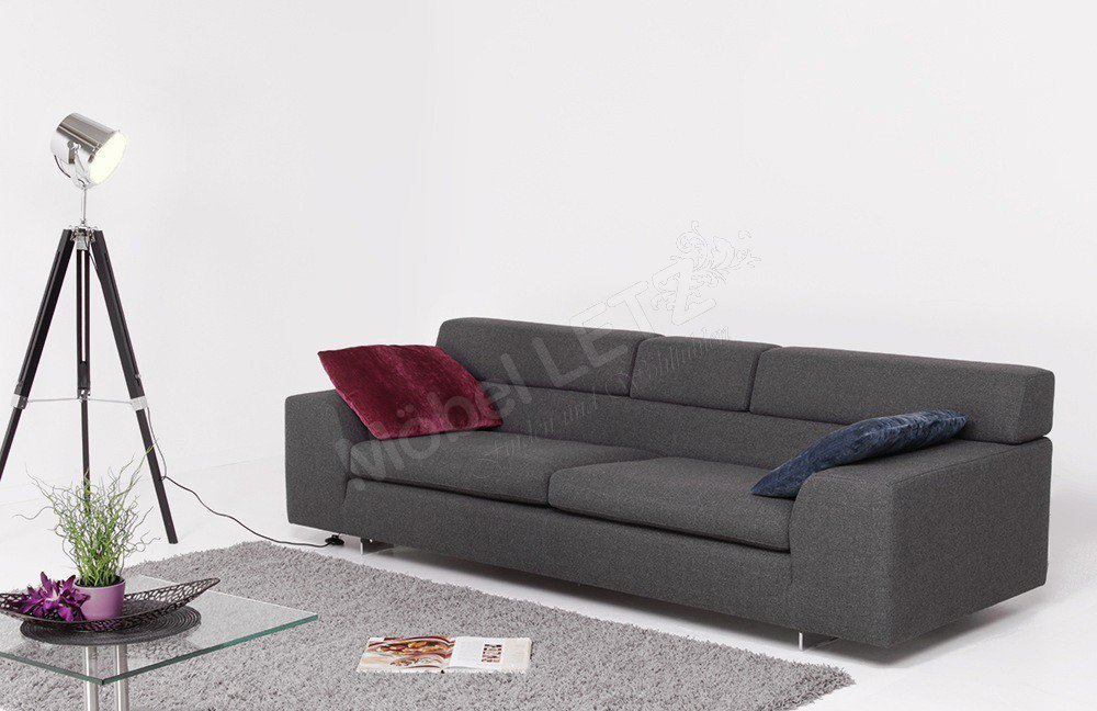 Machalke Black Jack Polstergarnitur grau | Möbel Letz - Ihr Online ...